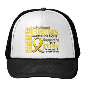 Childhood Cancer Awareness Month Ribbon I2 1 Trucker Hat