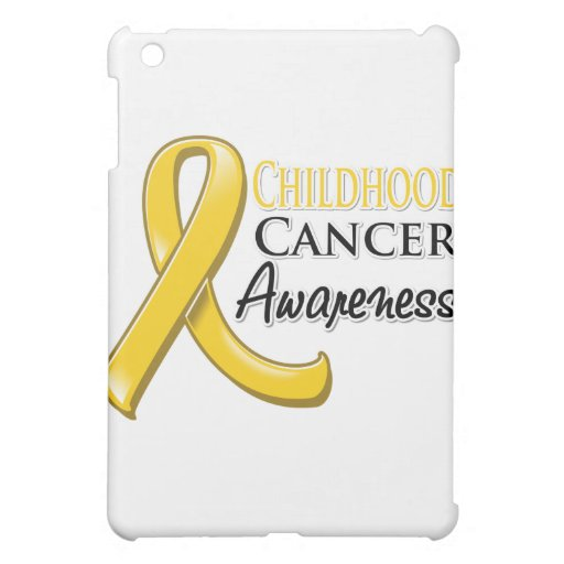 Childhood Cancer Awareness Ribbon iPad Mini Case