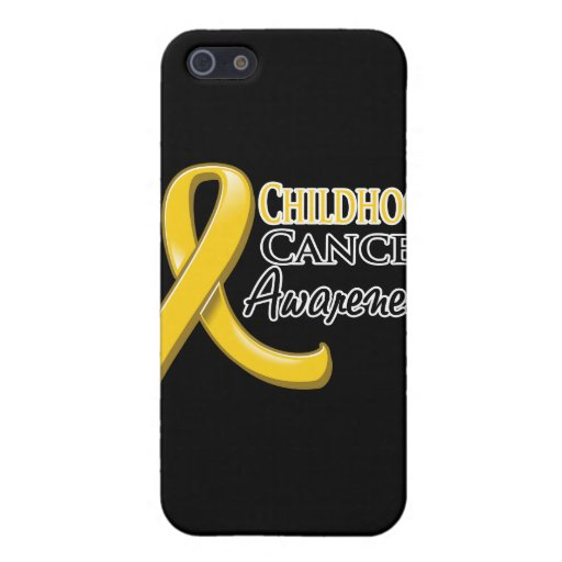 Childhood Cancer Awareness Ribbon Cases For iPhone 5