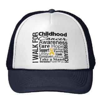 Childhood Cancer Awareness Walk Cap