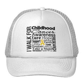 Childhood Cancer Awareness Walk Mesh Hats