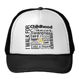 Childhood Cancer Awareness Walk Hats