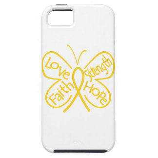 Childhood Cancer Butterfly Inspiring Words Case For iPhone 5/5S