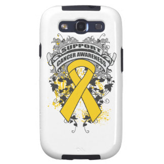 Childhood Cancer - Cool Support Awareness Slogan Samsung Galaxy S3 Case
