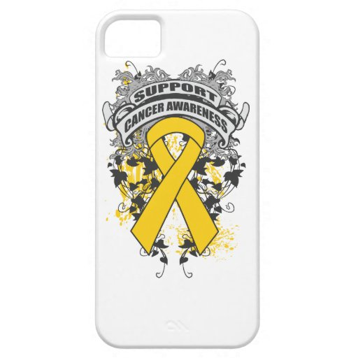Childhood Cancer - Cool Support Awareness Slogan iPhone 5 Covers