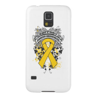 Childhood Cancer - Cool Support Awareness Slogan Cases For Galaxy S5