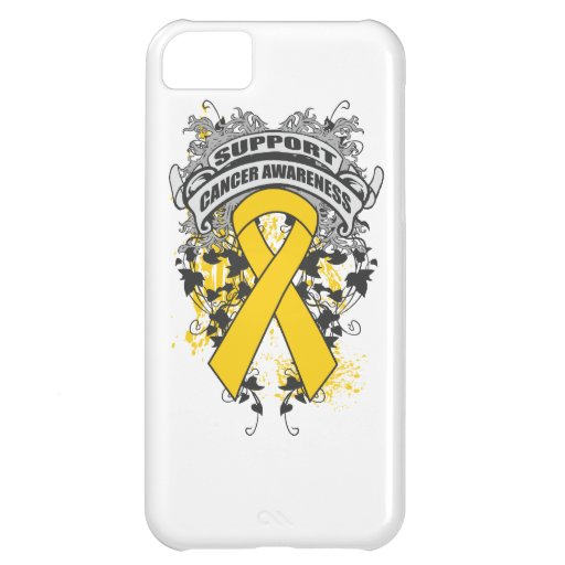 Childhood Cancer - Cool Support Awareness Slogan Case For iPhone 5C