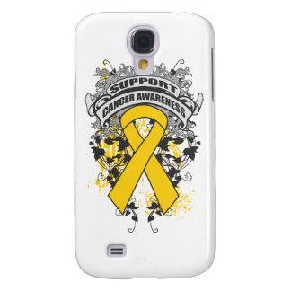 Childhood Cancer - Cool Support Awareness Slogan Galaxy S4 Cover