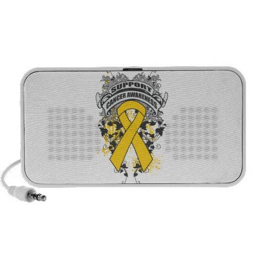 Childhood Cancer - Cool Support Awareness Slogan Speaker System