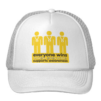Childhood Cancer Everyone Wins With Awareness Cap