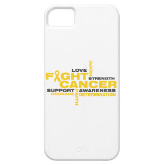 Childhood Cancer Fight Collage iPhone 5 Case