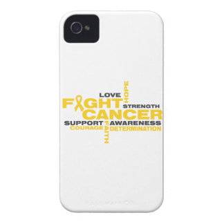 Childhood Cancer Fight Collage iPhone 4 Covers