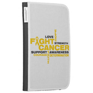 Childhood Cancer Fight Collage Kindle 3G Case