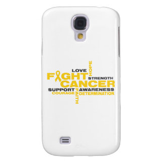 Childhood Cancer Fight Collage Galaxy S4 Case