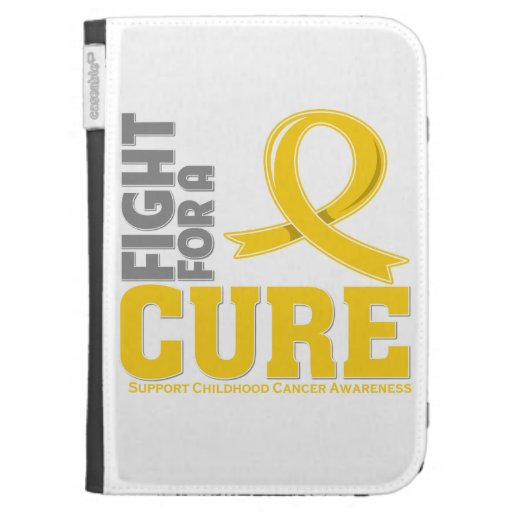 Childhood Cancer Fight For A Cure Kindle Case