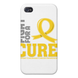 Childhood Cancer Fight For A Cure iPhone 4/4S Cases