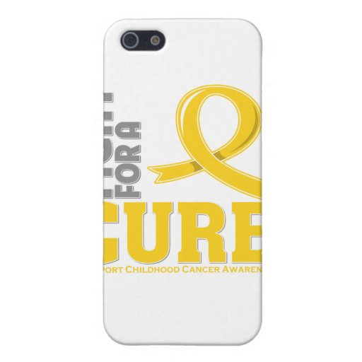 Childhood Cancer Fight For A Cure iPhone 5 Covers