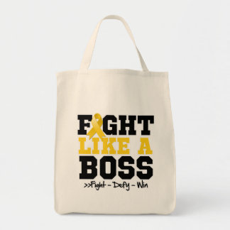 Childhood Cancer Fight Like a Boss Bags