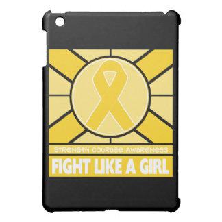 Childhood Cancer Fight Like A Girl Flag iPad Mini Covers