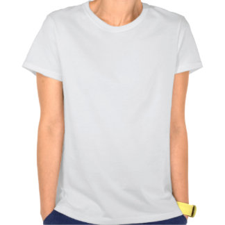 Childhood Cancer Fight Like A Girl Silhouette T-shirt