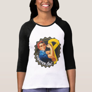 Childhood Cancer Fighter Gal Tees