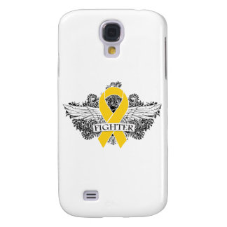 Childhood Cancer Fighter Wings Galaxy S4 Case