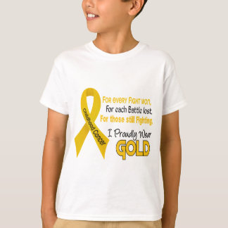 Childhood Cancer For Every…..I Proudly Wear Gold 1 T-Shirt