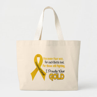 Childhood Cancer For Every…..I Proudly Wear Gold 1 Jumbo Tote Bag
