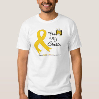 Childhood Cancer For My Cousin Shirt