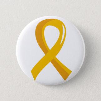 Childhood Cancer Gold Ribbon 3 6 Cm Round Badge