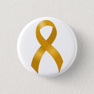 Childhood Cancer Gold Ribbon 3 Cm Round Badge