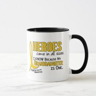 Childhood Cancer Heroes All Sizes 1 Granddaughter Mug