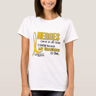 Childhood Cancer Heroes All Sizes 1 Grandson T-Shirt