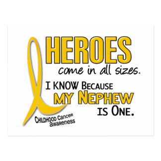 Childhood Cancer Heroes All Sizes 1 Nephew Postcard