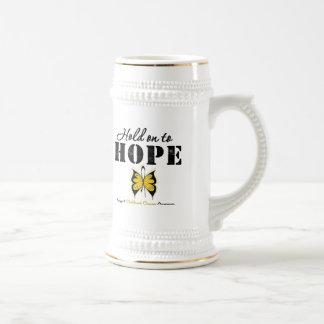 Childhood Cancer Hold On To Hope Coffee Mug