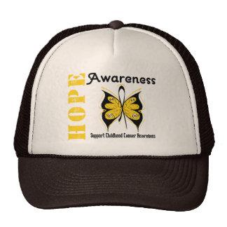 Childhood Cancer Hope Awareness Mesh Hat
