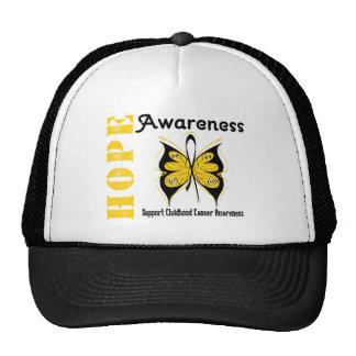 Childhood Cancer Hope Awareness Hats