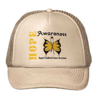 Childhood Cancer Hope Awareness Trucker Hat