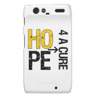 Childhood Cancer Hope For a Cure Droid RAZR Covers