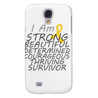 Childhood Cancer I Am Strong Survivor Samsung Galaxy S4 Case
