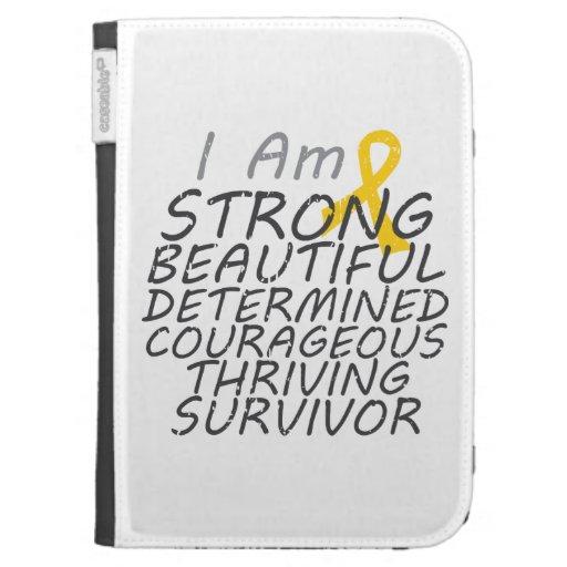 Childhood Cancer I Am Strong Survivor Cases For Kindle