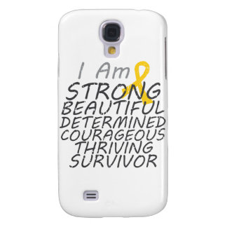Childhood Cancer I Am Strong Survivor Galaxy S4 Covers