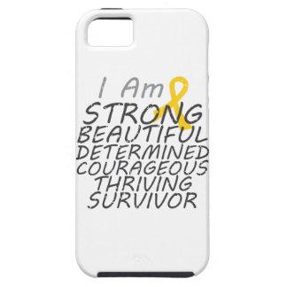 Childhood Cancer I Am Strong Survivor iPhone 5 Case