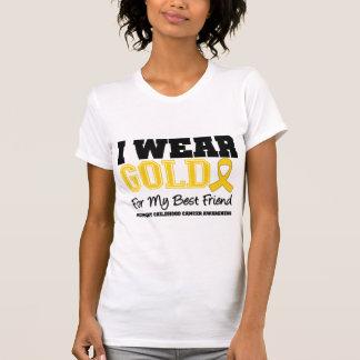 Childhood Cancer I Wear Gold Ribbon Best Friend T Shirts