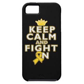 Childhood Cancer Keep Calm Fight On iPhone 5 Cover