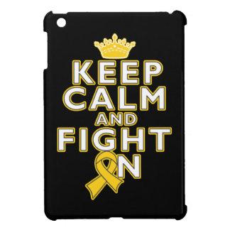 Childhood Cancer Keep Calm Fight On iPad Mini Covers