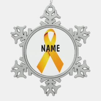 Childhood Cancer Memorial Ornament