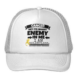 Childhood Cancer Met Its Worst Enemy in Me Cap