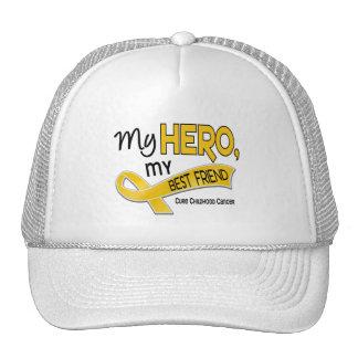 Childhood Cancer MY HERO MY BEST FRIEND 42 Hats