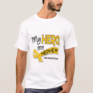 Childhood Cancer MY HERO MY NEPHEW 42 T-Shirt